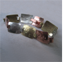 Link bracelet 1987  Copper, nickel, new gold